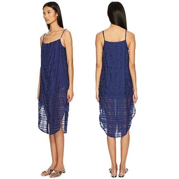 Onia Other - ONIA Blue Shadow Flora Cover Up